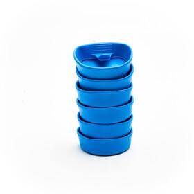 Wildo Fold-A-Cup Set Unicolor 6-Pieces, light blue